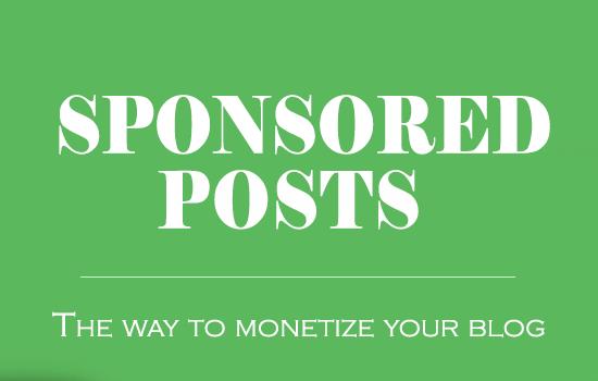 Sponsored Posts thumbnail