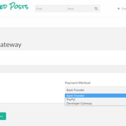 sponsored posts select gateway basic