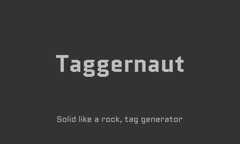 Taggernaut thumbnail