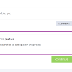 HireBee Edit Project screenshot