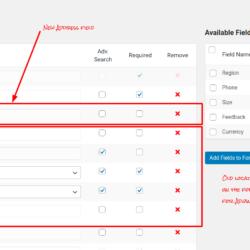 ClassiPress Address Field – form builder
