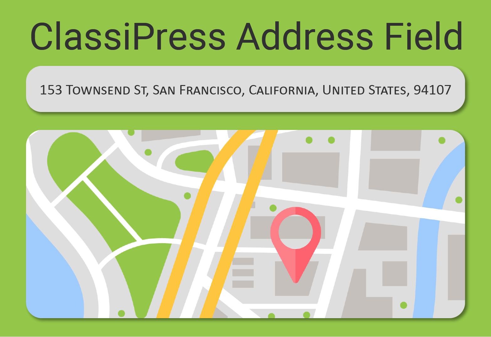 ClassiPress address field